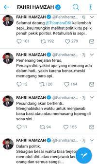 Kuliah Tweet Fahri untuk Tsamara