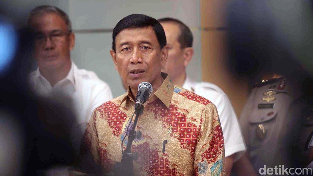 Siap Jawab soal Perppu Ormas di MK, Wiranto: Bukan Asal-asalan