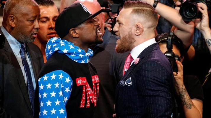 Panas, Konferensi Pers Mayweather vs McGregor