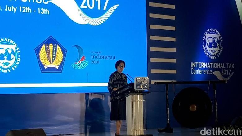Di Depan Delegasi IMF, Sri Mulyani Bicara Soal Pajak Cek Rekening