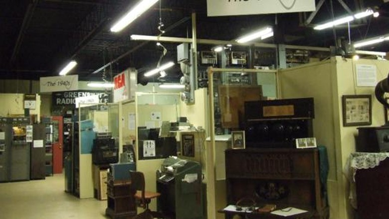 Foto: The Vintage Radio and Communications Museum of Connecticut di Amerika Serikat (vrcmct.org)