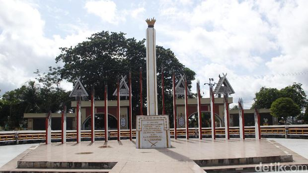Di Sini Soekarno Tancapkan Tiang Simbol Pembangunan Palangka Raya