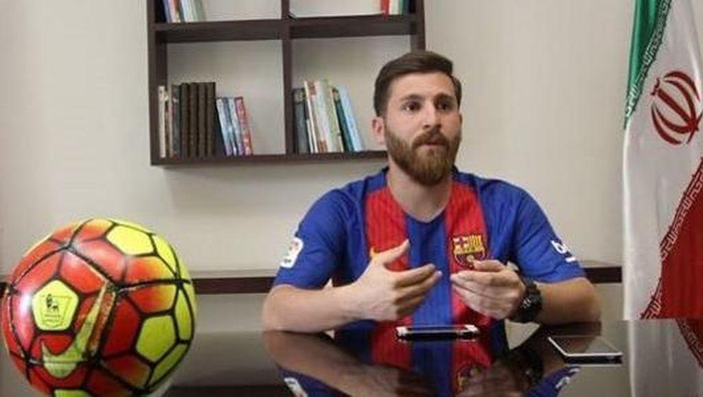 Kembaran Messi dan Ronaldo dari Iran yang Bikin Dunia Terkejut