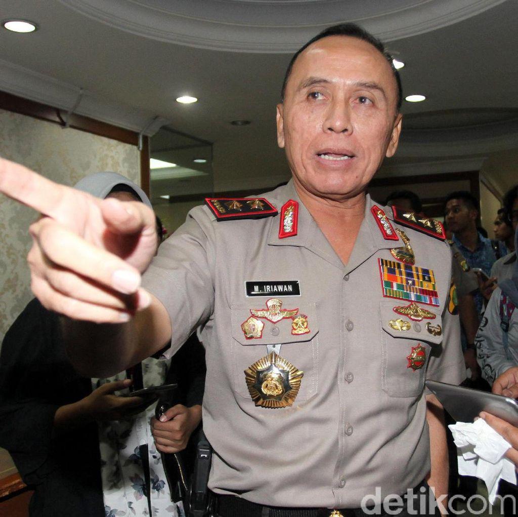 Kapolda Metro Jaya Mutasi Sejumlah Kapolsek dan Kasat Reskrim