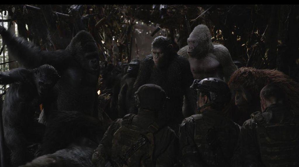 Intip Pembuatan War For The Planet of The Apes