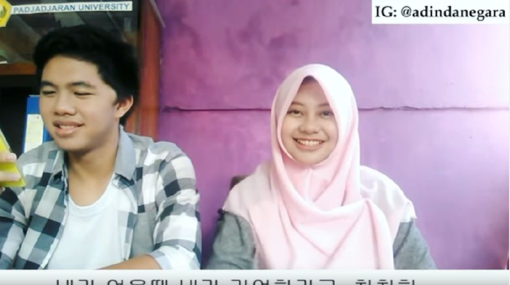 Viral, Video Hijabers Unpad Menyanyi Despacito dalam 5 Bahasa