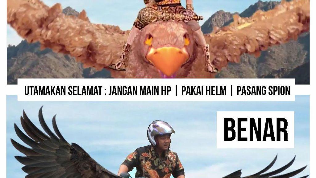 Kampanye Aman Berkendara, Wali Kota Semarang Pakai Meme Lucu