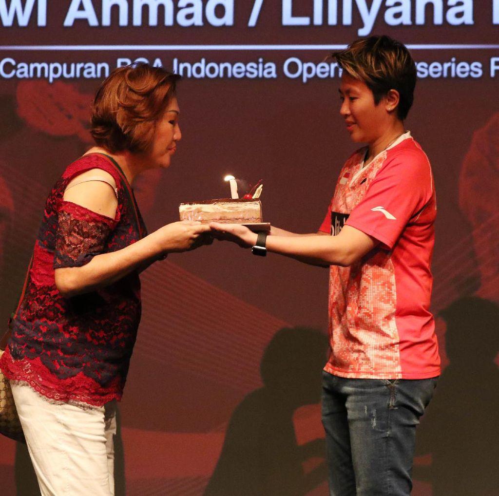 Liliyana Natsir: Pas Mama Ultah, Pas Dapat Bonus