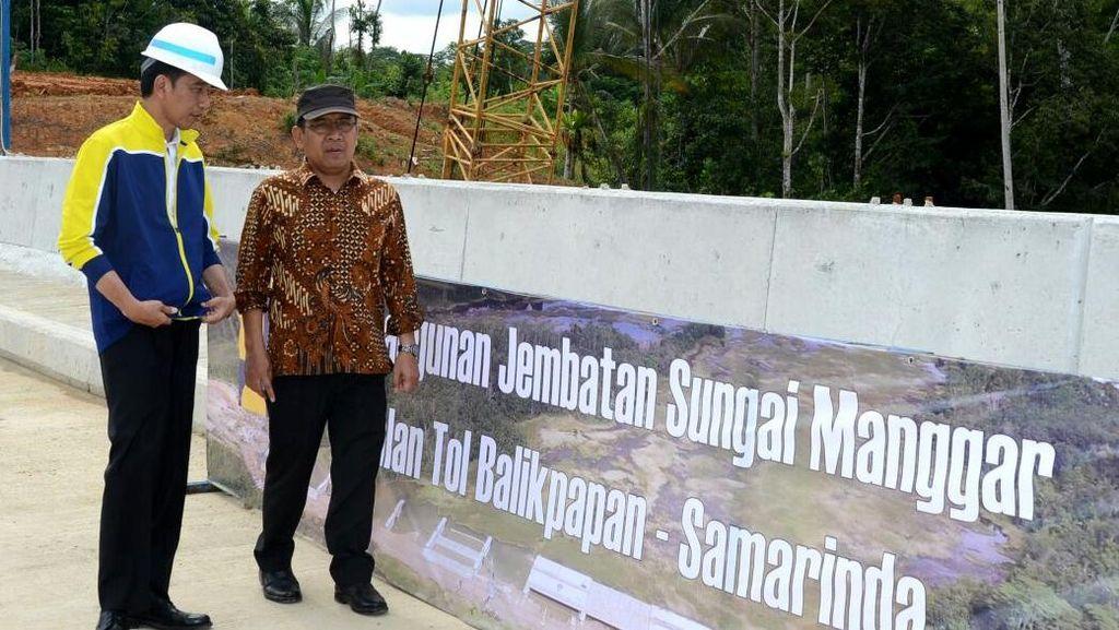 Konstruksi Tol Balikpapan-Samarinda Capai 26%