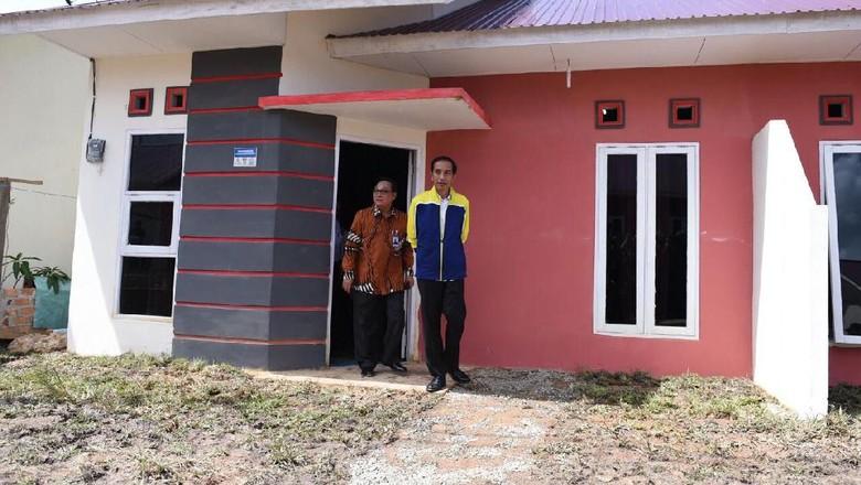 Orang Bisa Beli Rumah DP 1%? Jokowi: Tentu Bisa