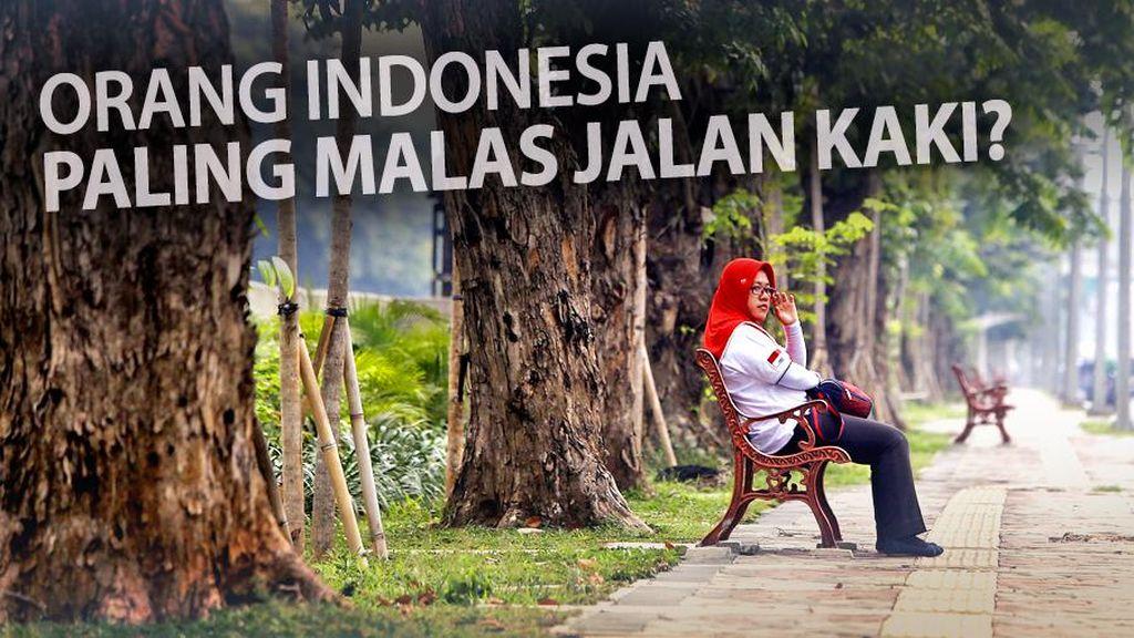 Kata Koalisi Pejalan Kaki Soal Orang Indonesia Malas Jalan Kaki