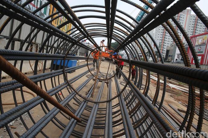 Foto: Wajah Proyek LRT Jakarta Peninggalan Ahok