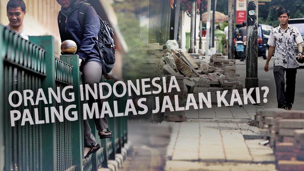 5 Alasan Malas Jalan Kaki di Jakarta