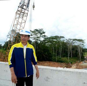Gencar Bangun Infrastruktur, Jokowi Genjot Pertumbuhan Ekonomi RI