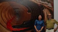 Lukisan Djokopekik Diunggulkan Jadi Lukisan Termahal di Indonesia