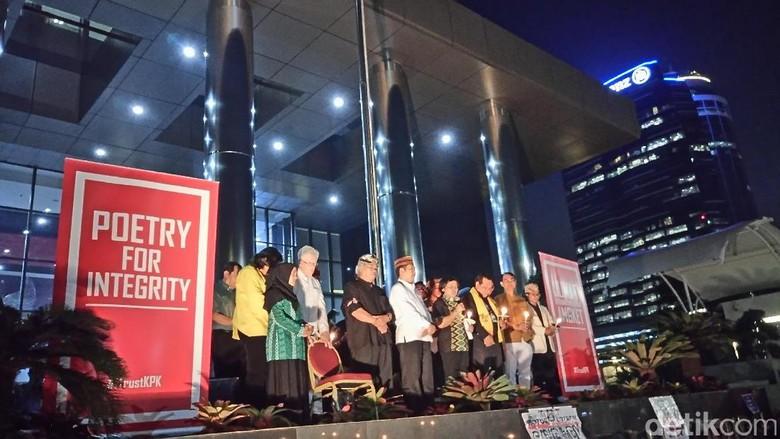 Dukung KPK, 43 Organisasi Tolak Hak Angket Lewat Puisi
