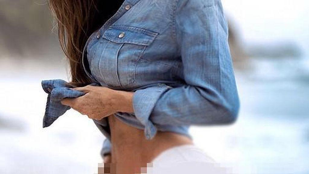 Wanita Ini Tetap Punya Perut Six Pack Meski Hamil 6 Bulan