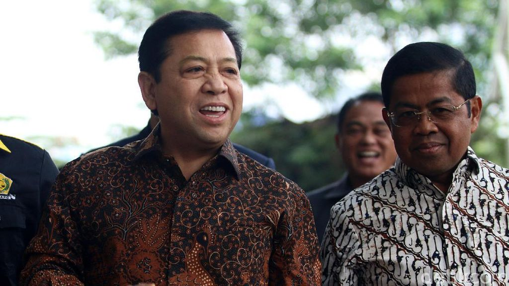 Setya Novanto, Ketum Parpol Keempat yang Jadi Tersangka KPK
