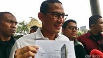 Diperiksa KPK, Sandiaga: Pertemuan dengan Nazaruddin Itu Fitnah