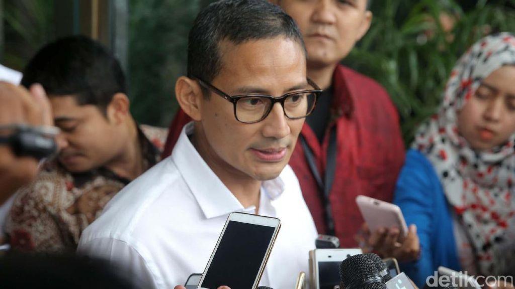 Djarot Rombak SKPD, Sandiaga: Tidak Lazim, tapi Jangan Suudzon