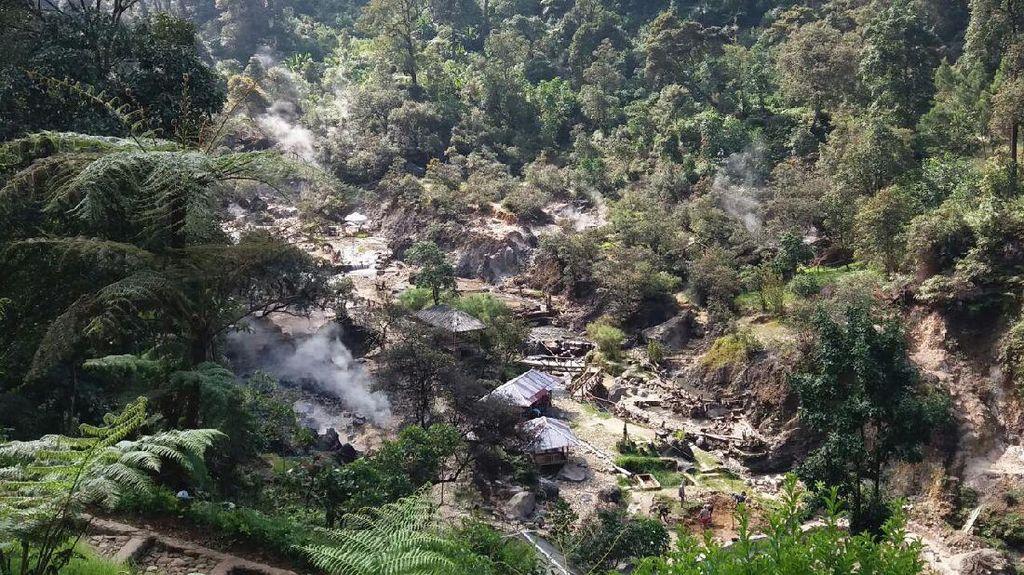 Kawah Rengganis Lagi Hits di Kabupaten Bandung