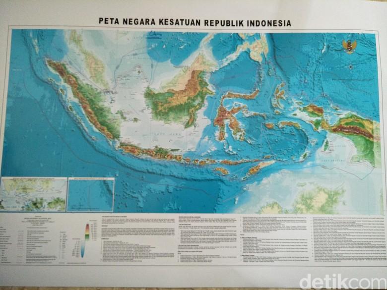 Kemenko Maritim Update Peta RI, Laut Natuna Jadi Laut Natuna Utara