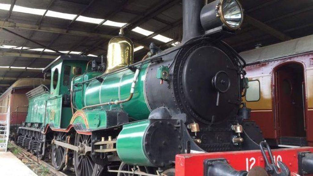 Lokomotif Bersejarah di Canberra Terpaksa Dilelang