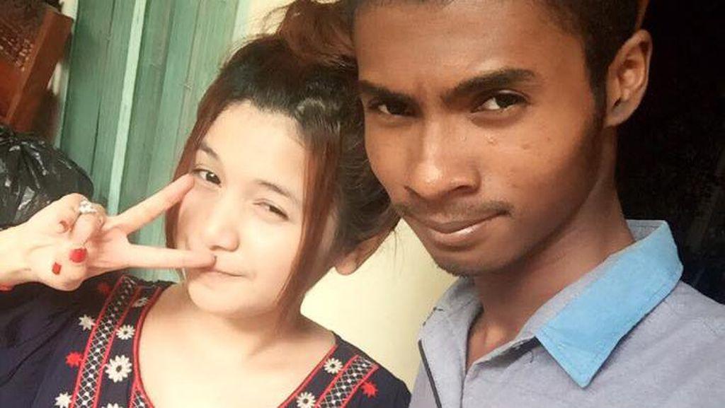 Pamer Kemesraan Pria Ketiban Pulung Nikahi Gadis Cantik