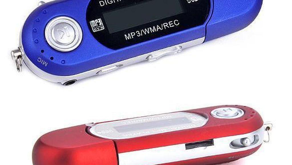 Evolusi Pemutar MP3, dari Ecek-ecek Sampai Kelas Dewa