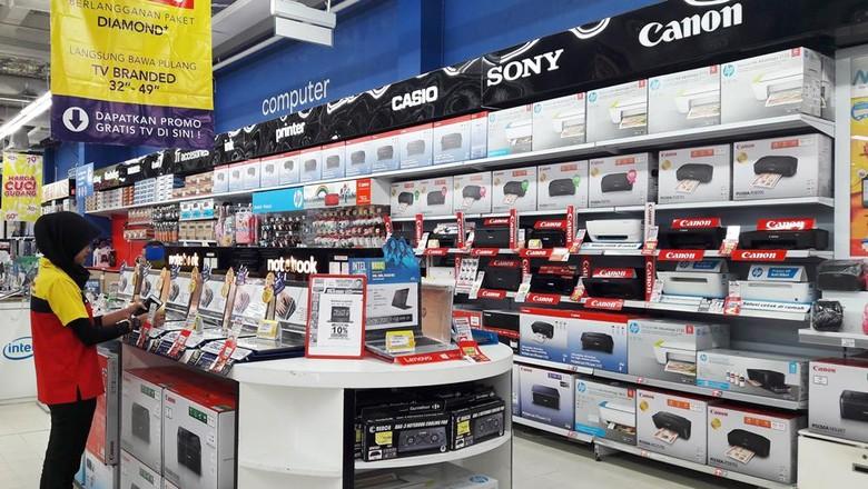 Transmart dan Carrefour Gelar Promo Laptop Akhir Pekan