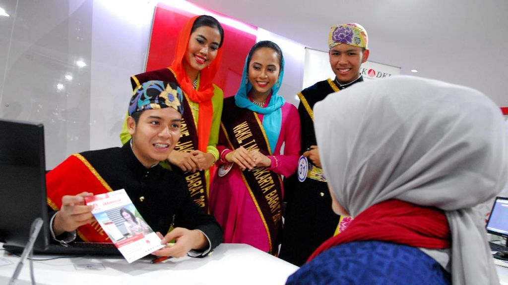 Ketika Abnon DKI Jakarta jadi Customer Service