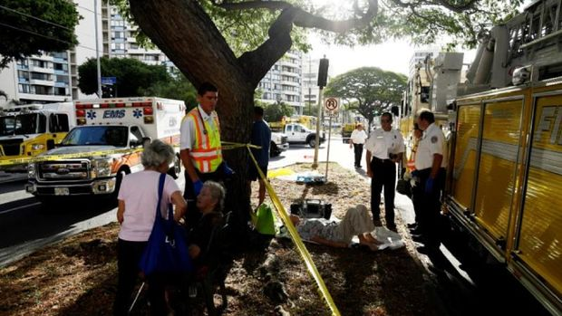 Kondominium Terbakar di Honolulu Hawaii, 3 Orang Tewas