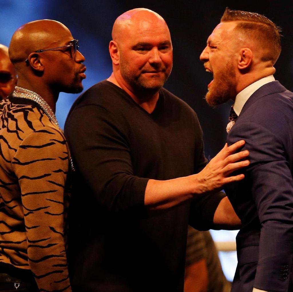 Ribuan Tiket Mayweather vs McGregor Belum Laku