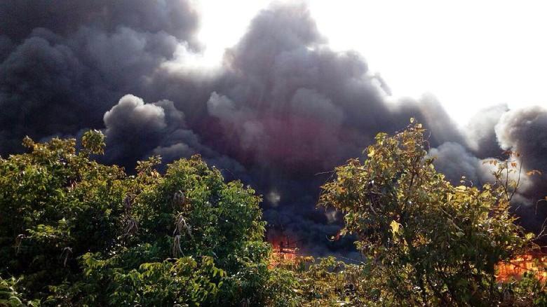 Kebakaran 14 Kapal di Pati Diduga Akibat Pengelasan