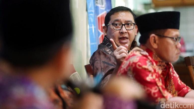 Fadli Zon Tuding Pemerintah Mau Jegal Prabowo Maju Pilpres 2019