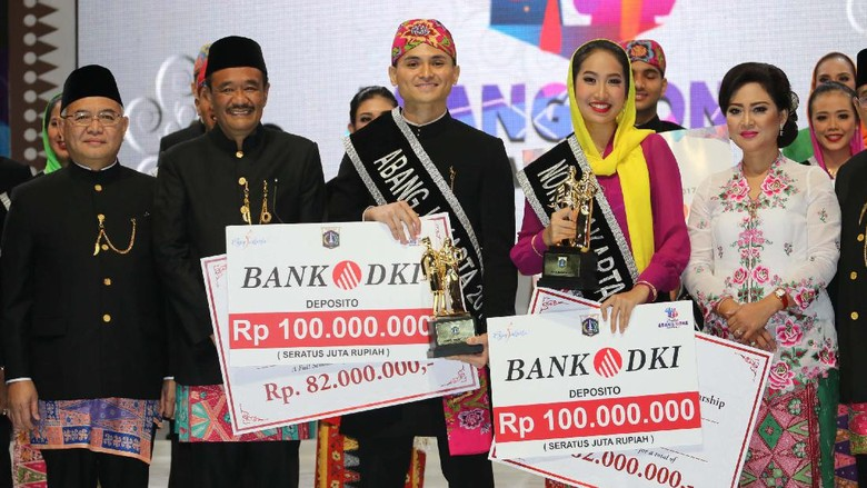 Ini Dia Abang None DKI Jakarta 2017