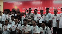 Hadiri Halal Bihalal Relawan, Anies Diminta Laksanakan Janji
