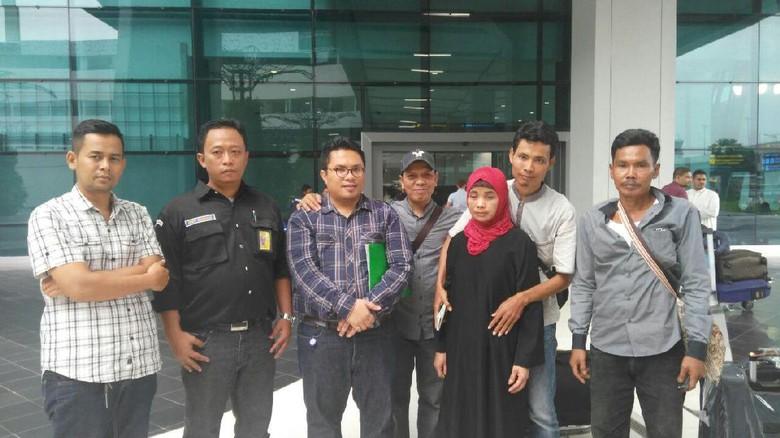 Cerita TKI Asal Lebak yang - Serang Selama tahun Sukmi binti Sardi Umar menjadi Tenaga Kerja Indonesia di Arab Selama itu pula ia disekap