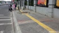 Ini Titik-titik Trotoar yang Sedang Diperbaiki Pemprov DKI