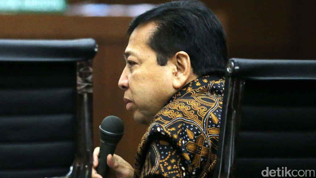 Pengakuan-pengakuan di Persidangan yang Menjerat Novanto