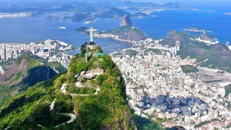 Ilustrasi Cristo Redentor di Brasil (Thinkstock)