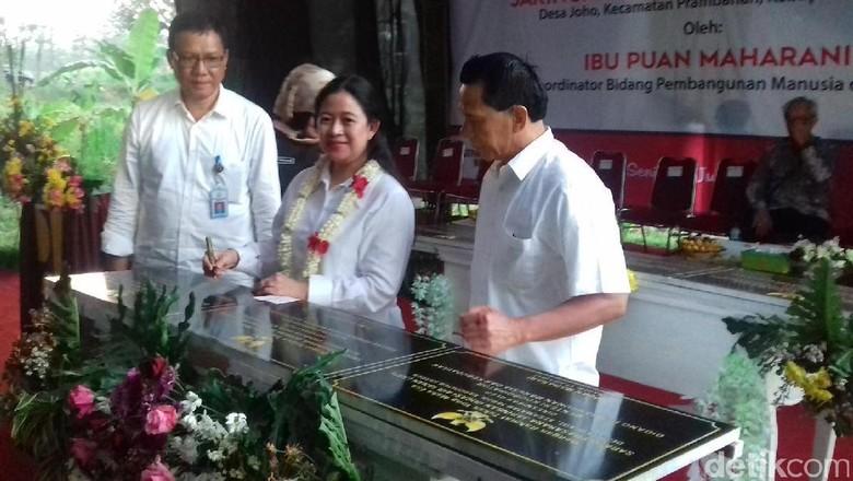 Menko Puan Resmikan 6 Lokasi Jaringan Irigasi Air Tanah di Jateng