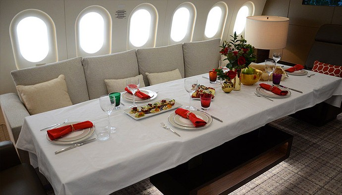 Nikmati Perjalanan Pakai Hotel Terbang Ini dengan Bayar US$ 74.000 per Jam