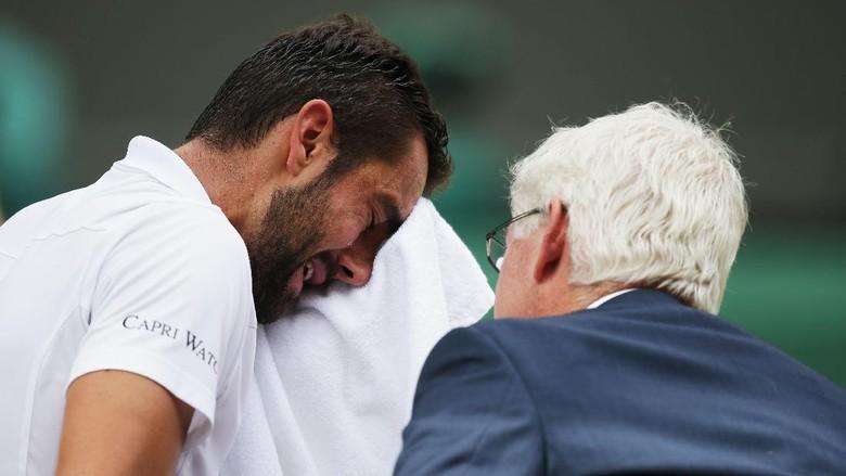 Tangisan Cilic dalam Kekalahannya dari Federer