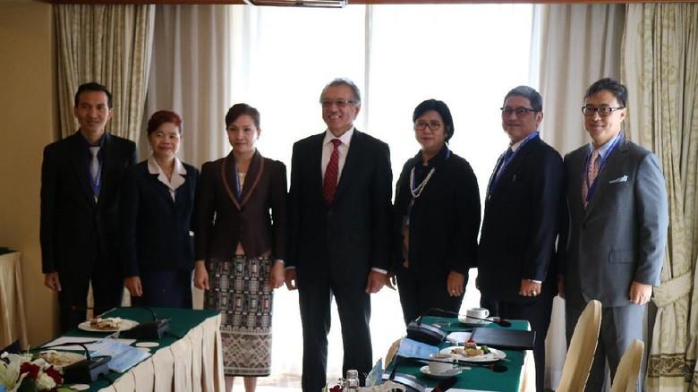 LPS Indonesia Teken MoU dengan LPS Mongolia dan Laos