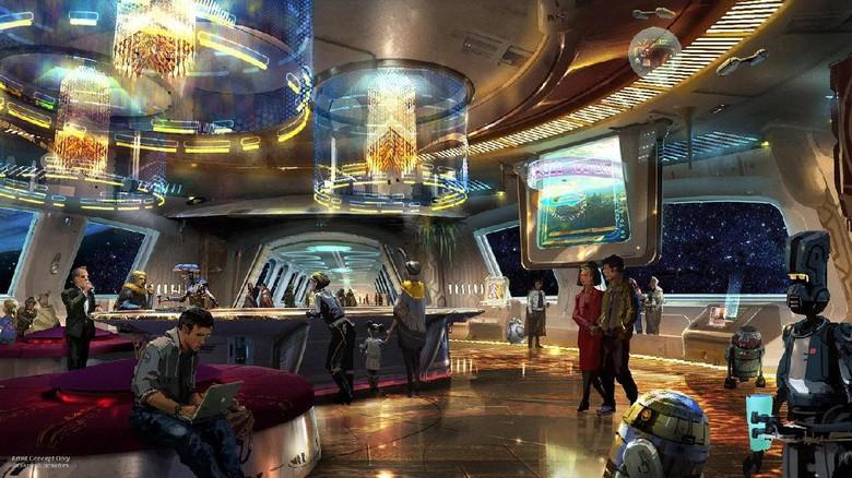 Penginapan bertema Star Wars di Disney Parks (Disney Parks)