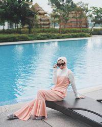 Foto: Tren Baju Renang Muslimah yang Stylish, Seperti Apa?
