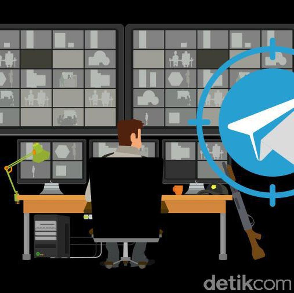 6 Aksi Teroris Manfaatkan Telegram