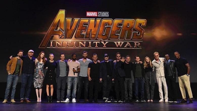Dari Robert Downey Jr hingga Tom Holland, Ini Para Bintang Avengers 3!