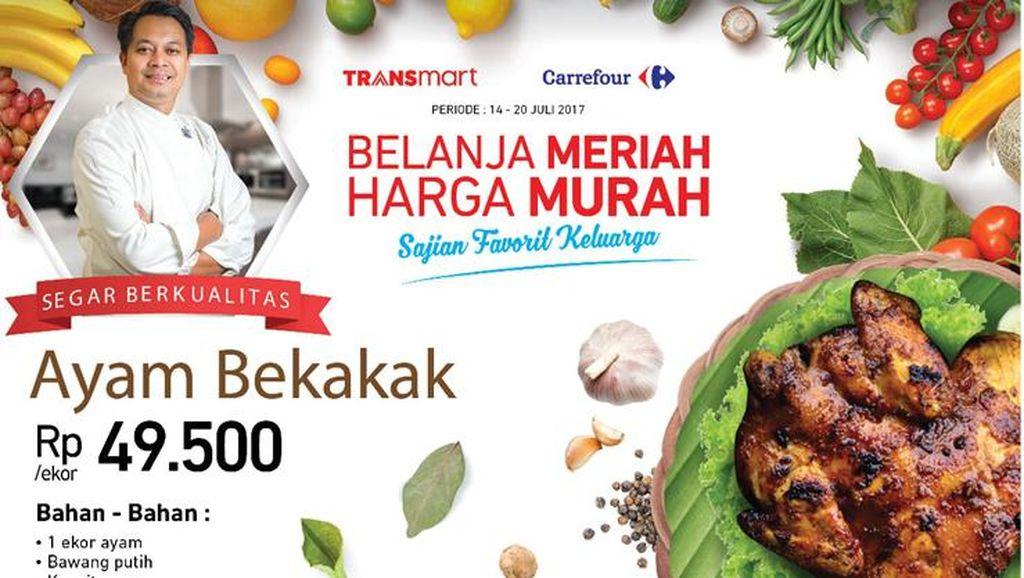 Belanja Groseri Harga Murah di Transmart dan Carrefour